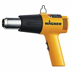 Wagner Spraytech 0503008 HT1000 Heat Gun, 2 Temp Settings 750ᵒF & 1000ᵒF, sof...