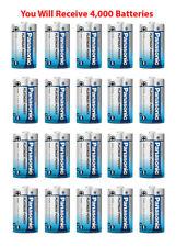 4,400x Panasonic Size D Battery Alkaline LR20 Platinum Industrial Wholesale Lot