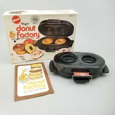 Vintage Dazey Electric Donut Factory Model DF2 With Box And Instructions