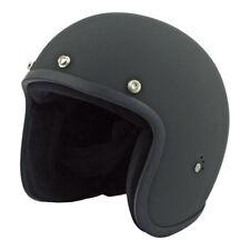 Bandit Open Face Jet Casco De Motocicleta En Negro Mate ** Entrega UK LIBRE **