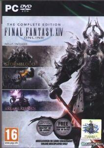 Final Fantasy XIV Online The Complete Edition Realm Reborn Heavensward Stormbloo