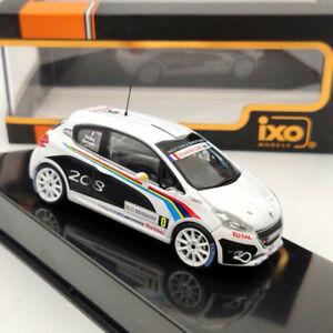 IXO 1:43 PEUGEOT 208 R2 #0 Tour De Corse 2012 RAM559 Collection Limited Diecast