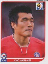 N°155 CHO WON-HEE # KOREA REPUBLIC STICKER PANINI WORLD CUP SOUTH AFRICA 2010