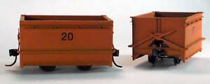 """30"""" GAUGE KOPPEL MINE CAR (2) O On30 Model Railroad Plastic Scenery Kit GL3101"""