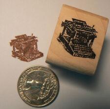 """P24 Miniature typewriter rubber stamp WM 0.5x0.5"""""""