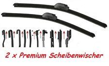 2x premium Scheibenwischer Set für Audi A2 1.2/1.4 TDI ab07.2001 Super Optik OVP