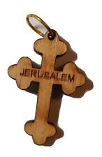 "Orthodox Wooden Cross Jerusalem 1"" Крест деревянный"