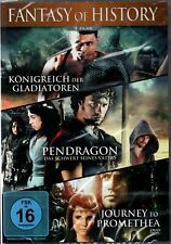 Fantasy of History  - 3 Filme auf 1 DVD - Pendragon, Journey to... - neu & ovp