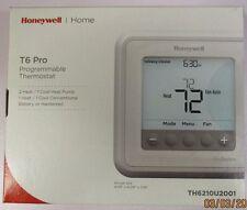 HONEYWELL T6 PRO PROGRAMMABLE THERMOSTAT TH6210U2001