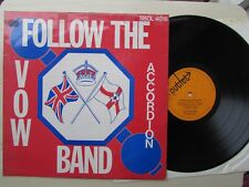 FOLLOW THE VOW ACCORDION BAND LP, 1974 OUTLET RECORDS.