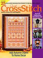 JUST CROSS STITCH Magazine:  September -  October 2017 Issue - Sampler - Autumn