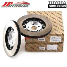 GENUINE LEXUS GS350/450h/200t RC350 F-SPORT OEM LH+RH FRONT BRAKE ROTOR DISC SET