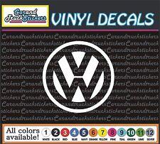 "Volkswagen VW auto Car Truck window wall vinyl sticker decal 4"""
