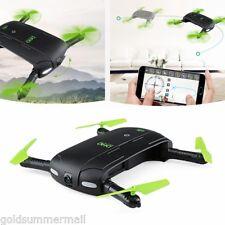 DHD D5 RC Mini Quadcopter Wifi FPV 480P Cam Foldable Selfie Drone 6-Axis Gyro