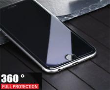 Para Apple iPhone 8 - 360 Híbrido de Silicona Funda Cubierta De Vidrio Con Pantalla Frontal