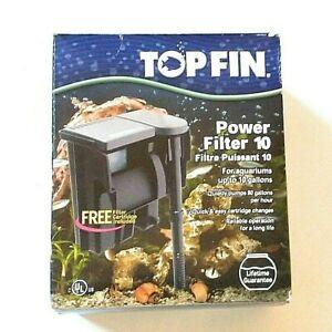 Top Fin Power Filter 10 Gallon Aquarium Filter