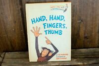 Hand Hand Fingers Thumb By Al perkins bright and early books for beginners