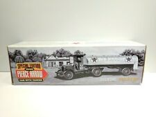 ERTL 1920 TEXACO PIERCE ARROW CAB WITH TANKER DIE-CAST METAL COIN BANK WITH BOX