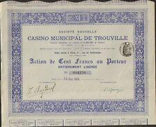 CASINO MUNICIPAL de TROUVILLE (M)