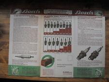Bosch  La nouvelle bougie Pyranit  plaquette publicitaire originale de 1932