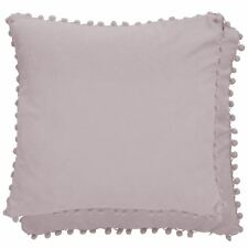 "POM POM MADE IN NETHERLANDS LIGHT PINK PURPLE CUSHION COVER 18"" - 45CM"