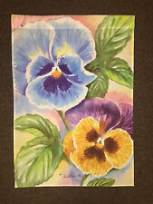 Decorative House Flag - Flowers