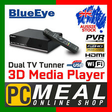 BlueEye V9T3 Full HD 1080P Media Player Recorder 3D Dual DTV Tuner PVR WIFI USB3