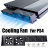 5 Fan For PS4 Game Accessories Play Station4 Host External Cooling Fan Cooler