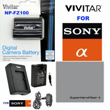 NP-FZ100 CAMERA BATTERY + CHARGER  FOR SONY ALPHA 9 A9 9R ILCE-9 A7R3 A7RIII
