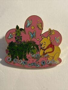 DLR Topiary Collection Pooh Eeyore & Piglet Surprise Pin LE 750 (A4)