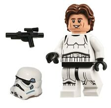 LEGO STAR WARS MINFIGURE HAN SOLO STORMTROOPER WAVY HAIR DEATH STAR 75159