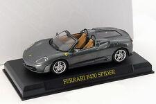 Ferrari F430 Spyder grau 1:43 Altaya