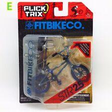 """NEW Flick Trix Bmx Mini Finger Bike """" STR 2.5 """" Alloy model bikes M11E"""