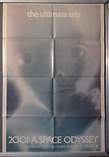Cinema Poster: 2001 A SPACE ODYSSEY 1968 (US RR One Sheet) Stanley Kubrick