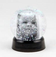 Klassische Schneekugel 8x9,5 cm Bilderrahmen Fotokugel Glitzer Kugel Snow Globe