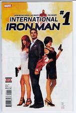 INTERNATIONAL IRON MAN   #1 - 2016  - MARVEL
