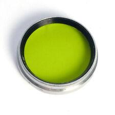 B+W Aufsteck-Filter 30mm gelbgrün * Agfa Isolette etc. 30 mm * yellow-green