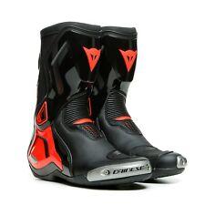 Dainese torque 3 botas negro/fluo-rojo Sport/racing motocicleta botas nuevo + +