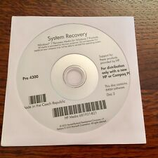 HP Pro 4300 System Recovery Microsoft Windows 7 64-bit (Disc 2 only)