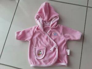 Tolle Baby Born Kleidung  Bademantel rosa Top