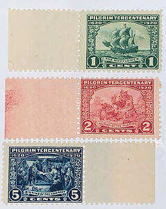 Travelstamps: US Stamps Scott #548-550 Mint NH with Selvage