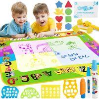 Magic Mat Kids Painting Writing Doodle Board Toy Doodle Mat Drawing 10ml Magic