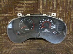 1996 96 Mitsubishi Eclipse Speedometer Cluster Instrument 173K Miles