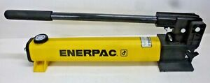 NEW ENERPAC 21 in x 4 3/4 in x 7 in 2 Stage Hydraulic Hand Pump, P-392