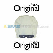NEW SAAB 9-5 LEATHER SEAT COVER BOTTOM FRONT BEIGE L50 GENUINE OEM 12773537