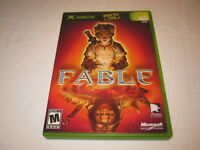 Fable (Microsoft Xbox, 2004) Original Release Game Complete Vr Nice!