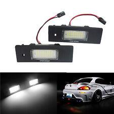 Eclairage Plaque d'immatriculation LED Pour BMW E81 E87 F12 F13 E63 E64 Z4 Mini