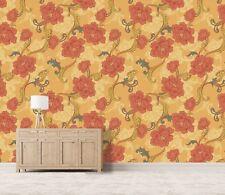 3D Peony Arabesque 233 Wallpaper Mural Wall Print Decal Indoor Murals Au Lemon