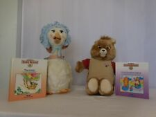 Teddy Ruxpin + Worlds Of Wonder Mother Goose Original 1986 With Ugly Duckling