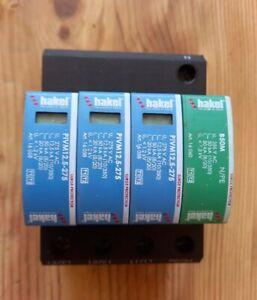 Surge Protector, Surge Protector, 4 Pole, 50 kA, 275 VAC, DIN Rail